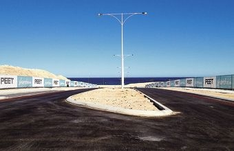 Shorehaven Boulevard was opened last week, giving formal access to the beach in Alkimos.