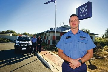 Sergeant Jason Macander plans to bring his police country and metro experience together in his new role.