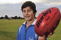 Nathan Goodrick lives and breathes football. d403108