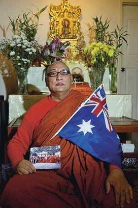 Venerable Panna Cakka became an Australian citizen this month. Picture: Emma Reeves www.communitypix.com.au d403454