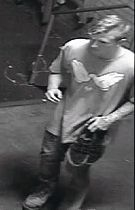 A CCTV image of the man police would like to speak to.