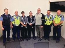 Members of the new Fremantle CBD team.