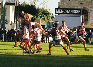 South Fremantle vs Perth Demons