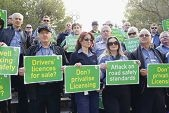 Assessors driven to protest by government privatisation plans