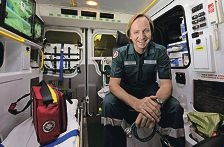 Bruce Wicksteed became interested in improving |emergency transport for children while working as a nurse at the PMH ICU. Picture: Elle Borgward d402455