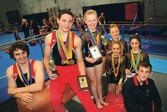Tim Hadwen, Matthew Bruder, Madelyn Johnston, Emma Carbon, Suzanne gatini (standing in front of Emma), Brianna Lettieri(girl right) and Benjamin Hamilton.