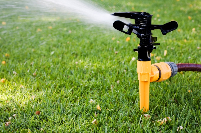 Using sprinklers to water home gardens during winter has been banned.