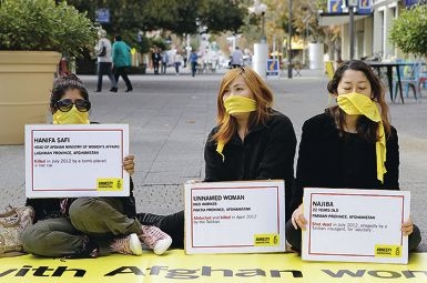 Fremantle's action day was one of 150 events held throughout Australia by Amnesty International.