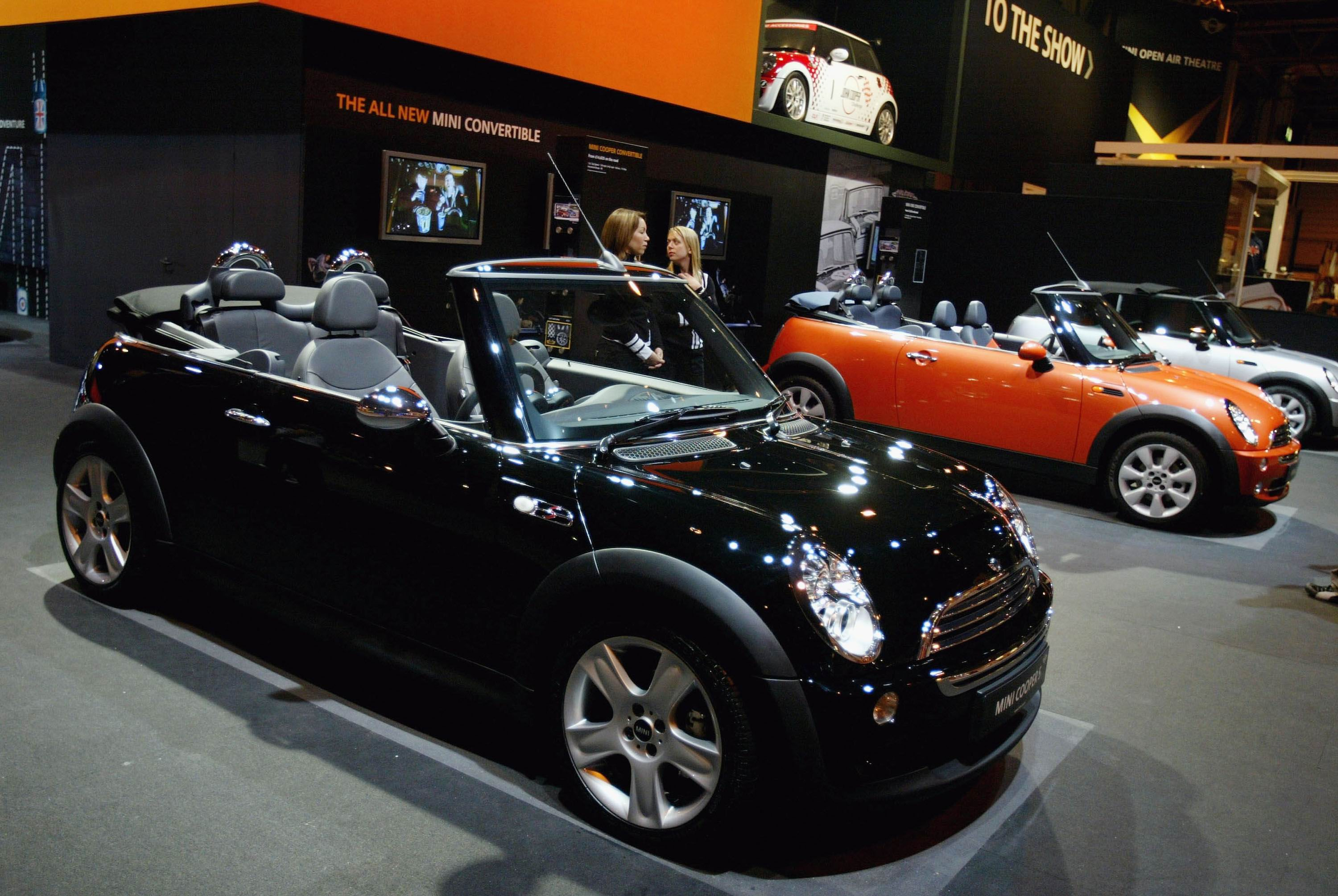 Mini's convertible is proving a big hit.