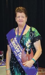 Slimmer of the Year Margaret Pammenter.
