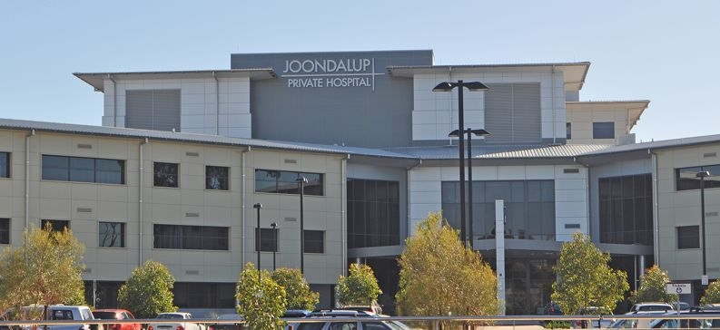 Joondalup Health Campus is caught up in a row over beds.