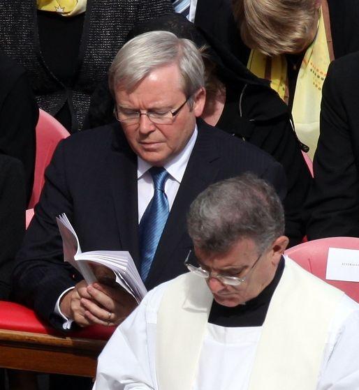 Prime Minister Kevin Rudd.