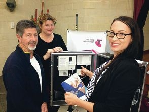 Brian Leckie gets the latest information on the NBN rollout from Telstra area general manager Nicola Swarbrick and local business development specialist Hannah Wells.
