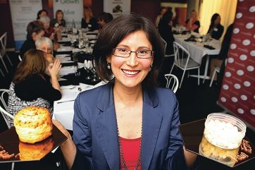 Swan Valley's Tanya Barretto spoke at the Womens Business Luncheon in Armadale last week. Picture: Marcelo Palacios www.communitypix.com.au d402561