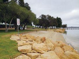 Erosion blamed for delayed upgrades to Pt Walter.