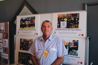 Volunteer John Lawrence is an inspiration to others.