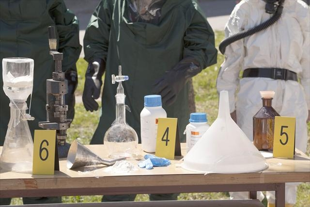 Clandestine drug labs in WA are mushrooming at an alarming rate. File picture