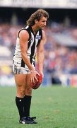 Peter Daicos in his heyday on the oval.