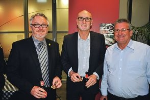 Mayor boasts V8 event