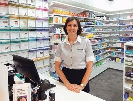 Kim Watkins says pharmacists have an increasingly |important role in helping people manage their health.