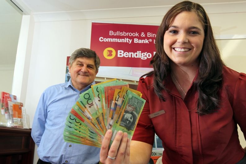 Stacey Moloney (Customer Relationship Officer) and Ray Povey (Business Development manager)