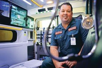 St John Ambulance area manager Garry Mews.