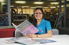 St Norbert College student Maria Bondoc has studied Japanese since Year 5.