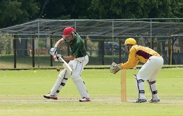 Former Australian Test batsman Mike Hussey was an exciting inclusion for Wanneroo's Twenty20 side on Sunday. Picture: Dan White