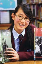 Yr 10 student Shiya Tee