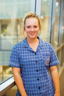 Scholarship winner Amy Whittle.