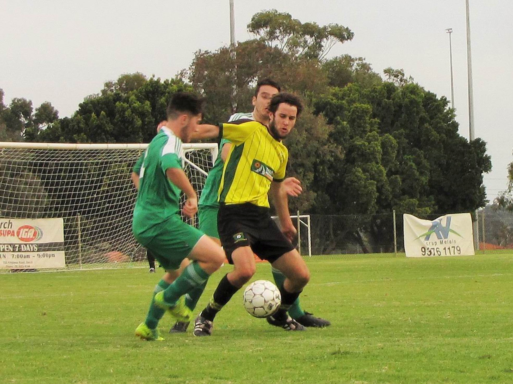 Curtin bounce back to beat Balga