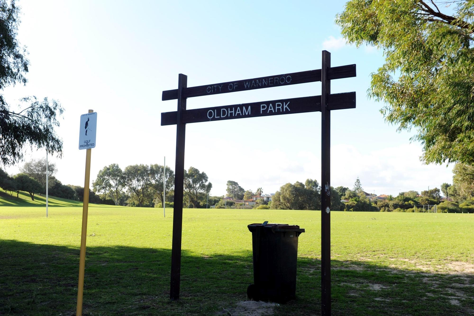 Oldham Park.