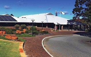 The Shire of Mundaring offices.