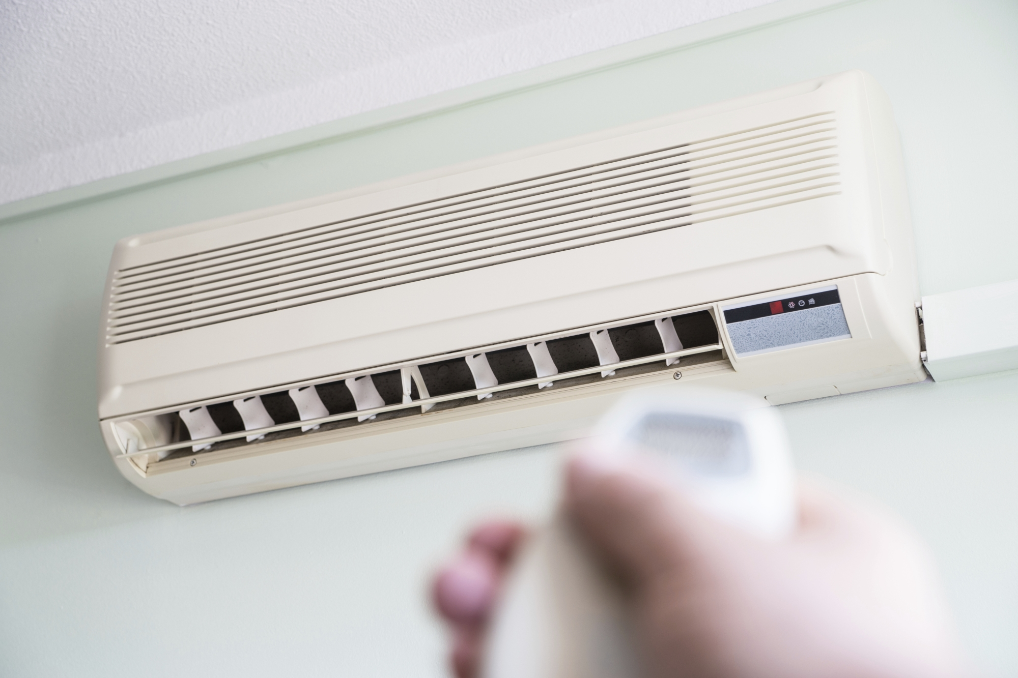 A man has failed to appear in court on charges against an air conditioner installation.