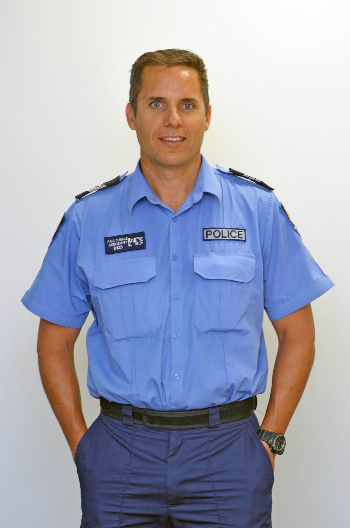 Sergeant Paul Trimble