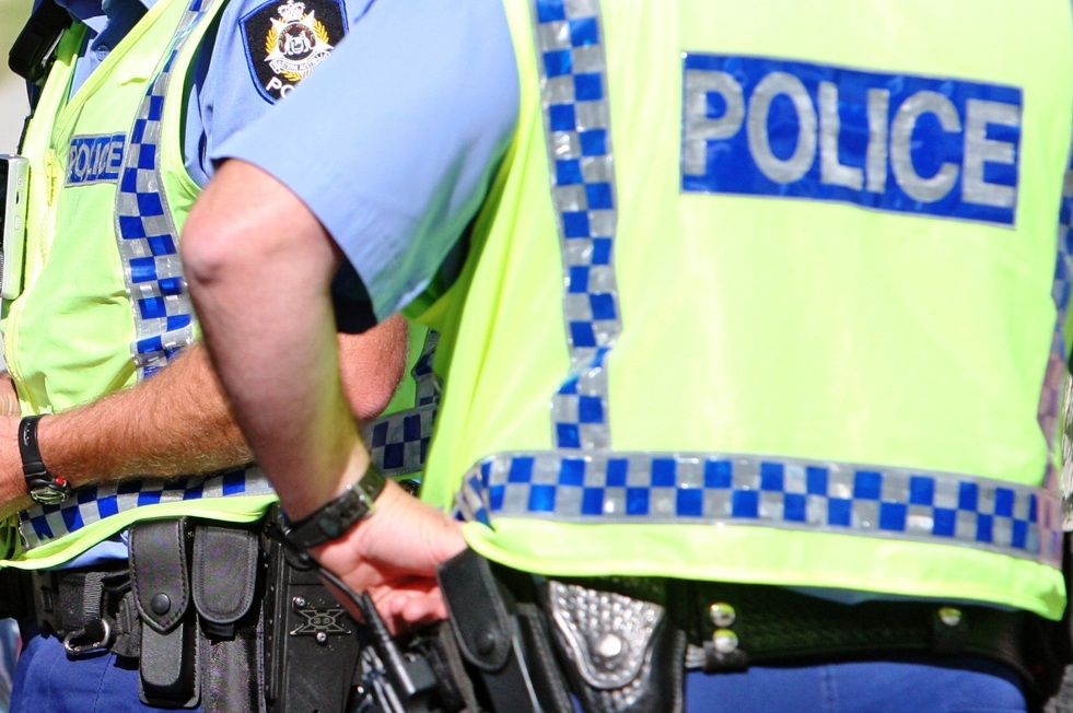 Residents helped police apprehend two people.