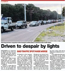 A recent article in The Advocate reported on traffic issues.