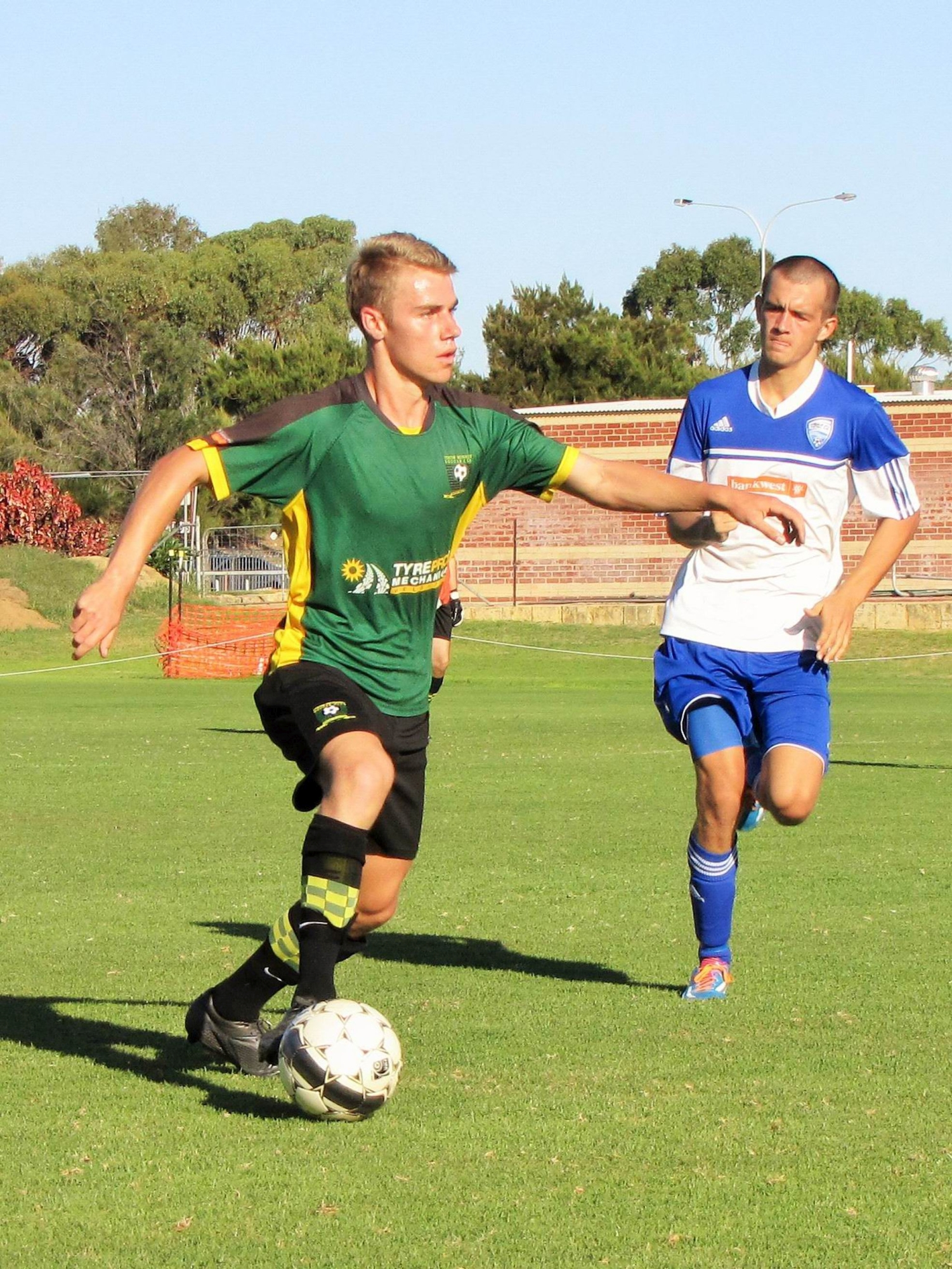 Striker Nathan Smith has been good for Curtin this year.