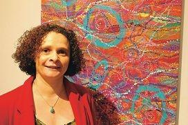 Artist Deborah Bonar.