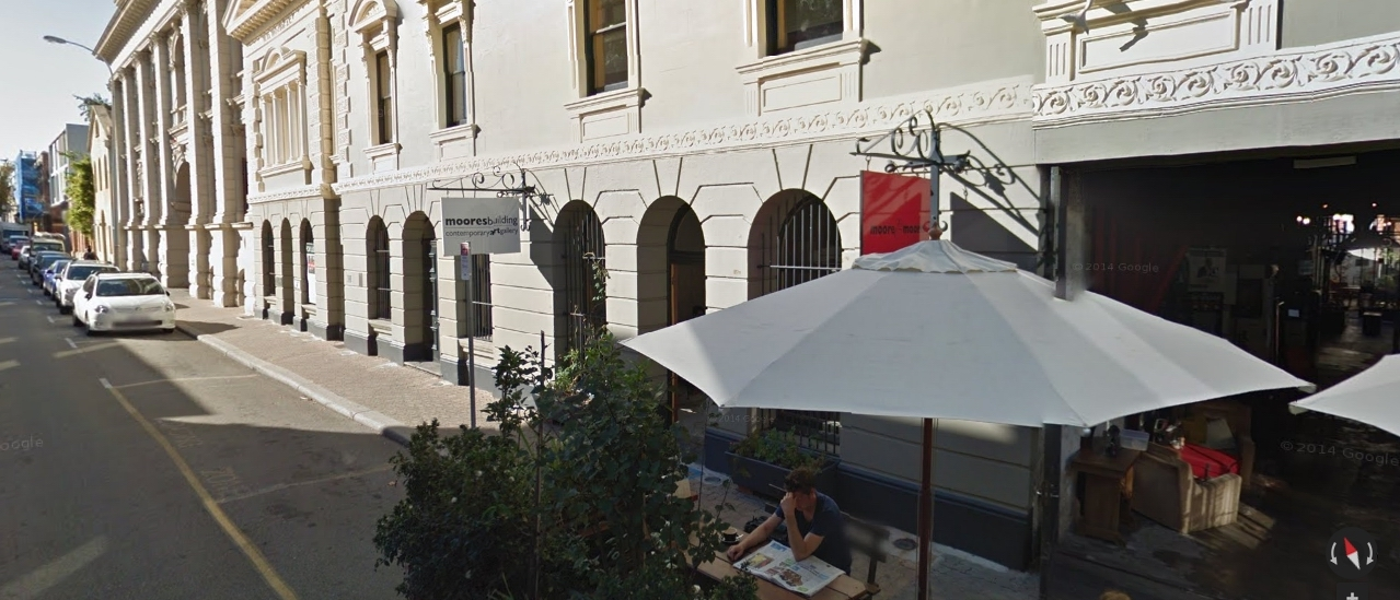 There is support for a small bar at Fremantle's Moores Building.