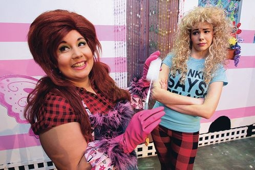 Therese Cruise of Mount Lawley as ''Pickles'' and Joanna Tyler of Gosnells as ''Jeannie''