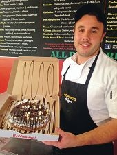 Laurance Romano's pizzeria was named best new business by the Joondalup Business Association.