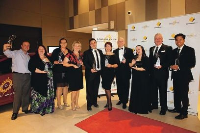 Joondalup Business Association award winners celebrate their success.