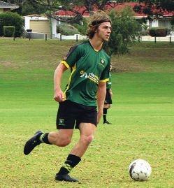 Curtin player Carlo Chiellini