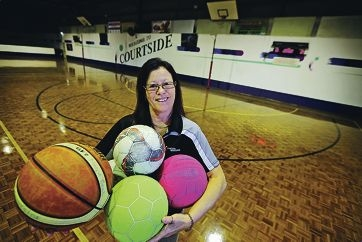 Heather Campana at Courtside centre in Canning Vale. Picture: David Baylis www.communitypix.com.au d421233