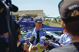 Police Commissioner Karl O'Callaghan said the new model would result in more police on the frontline in local communities.
