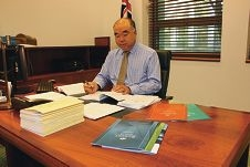 Moore MHR Ian Goodenough looks over the controversial 2014-15 Federal Budget.