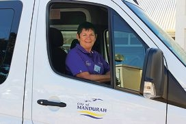 Ac-cent Mandurah volunteer Wilma Dainton says volunteering is a very rewarding experience.