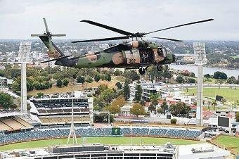 Australian Army Black Hawk Exercises