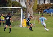 Some of the action at the Ellenbrook-Joondalup clash.